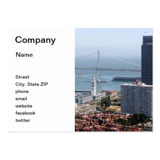 Bay Bridge Large Business Card