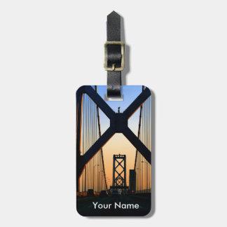 Bay Bridge luggage tag