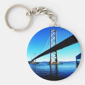 Bay Bridge Northern California San Francisco Keychain