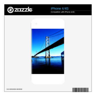 Bay Bridge Northern California San Francisco Decals For The iPhone 4S