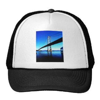 Bay Bridge Northern California San Francisco Trucker Hat