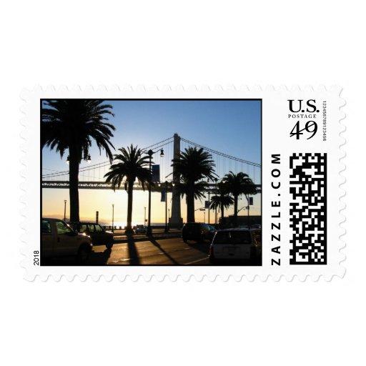 Bay Bridge Postage Stamps