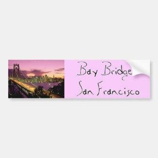 Bay Bridge, San Francisco, California Bumper Sticker
