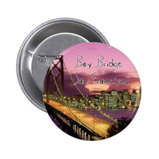 Bay Bridge, San Francisco, California Button