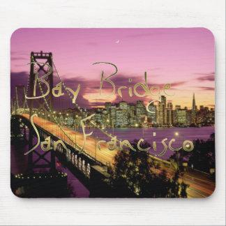 Bay Bridge, San Francisco, California Mouse Pad