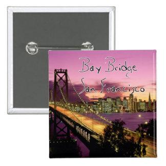 Bay Bridge, San Francisco, California Pinback Button