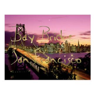Bay Bridge, San Francisco, California Postcard