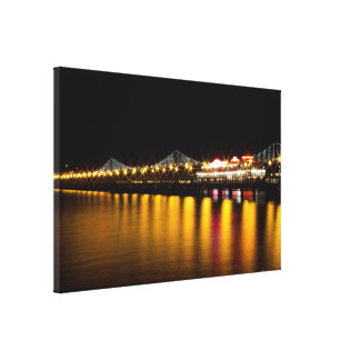 Bay Bridge - SF Canvas Print