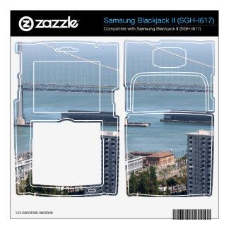 Bay Bridge Samsung Blackjack II Skin