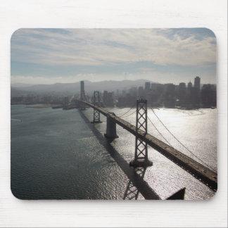 Bay Bridge Skyline Mouse Pad