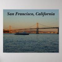 Bay Bridge & Yerba Buena Island #4 Poster