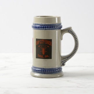 BAY CITY BIKER   (BEER STEINS) BEER STEIN