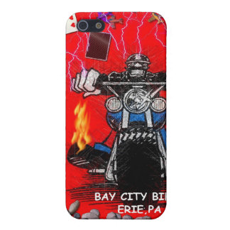 BAY CITY BIKER   (IPHONE COVERS) iPhone SE/5/5s COVER