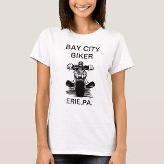 BAY CITY BIKER   (LADIES SHIRT) T-Shirt