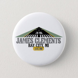 Bay City, MI - Airport Runway Button