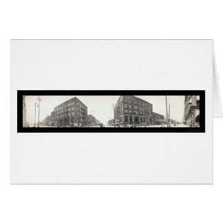 Bay City, MI Photo 1912 Greeting Card