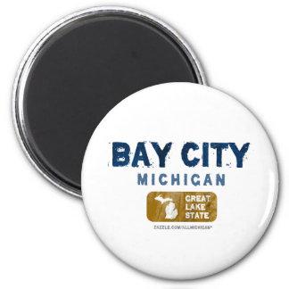 Bay City Michigan Great Lake State Magnet