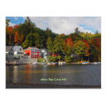 bay cove, Alton Bay Cove NH Post Card