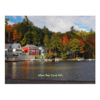 bay cove, Alton Bay Cove NH Postcard