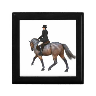 Bay Dressage Horse Gift Box