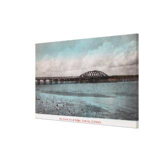 Bay Farm Island BridgeAlameda, CA Canvas Print
