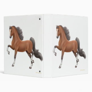 Bay Gaited Horse Avery Binder