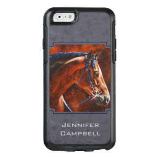 Bay Hanoverian Horse Slate Gray OtterBox iPhone 6/6s Case