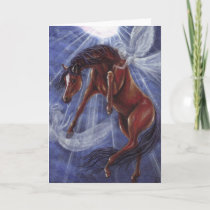 BAY HORSE Angels Heaven Note Card