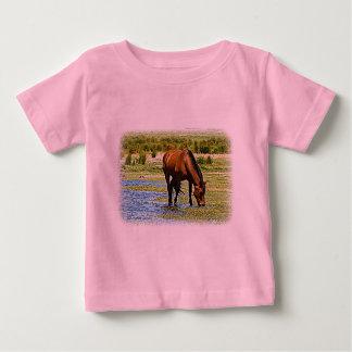 Bay Horse Baby T-Shirt