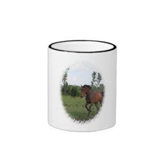 Bay Horse Coffee Mug
