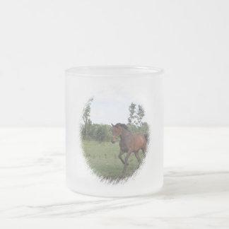 Bay Horse Frosted Mug