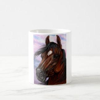 BAY HORSE HEAD Mug