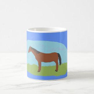 Bay Horse Mug