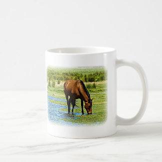Bay Horse Classic White Coffee Mug