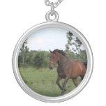 Bay Horse Necklace