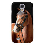 Bay Horse Portrait Galaxy S4 Covers