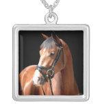 Bay Horse Portrait Jewelry