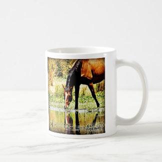 "Bay Horse ""Reflections"" Coffee Mug"