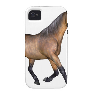 Bay Horse Running iPhone 4 Cover