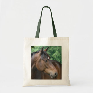 Bay Horse with Star Tote Bag
