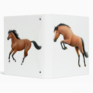 Bay Horses Binder