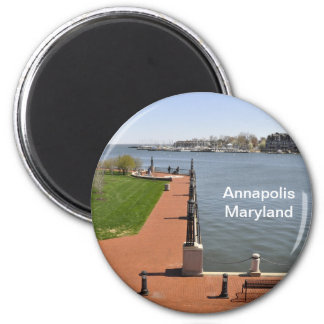 Bay in Annapolis, Maryland Magnet