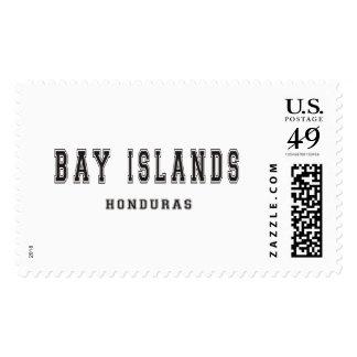 Bay Islands Honduras Postage