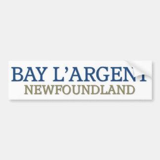 Bay L'Argent Newfoundland Bumper Sticker