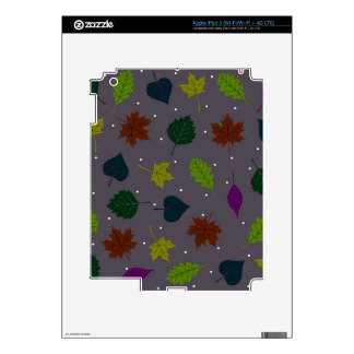 Bay leaves iPad 3 decals