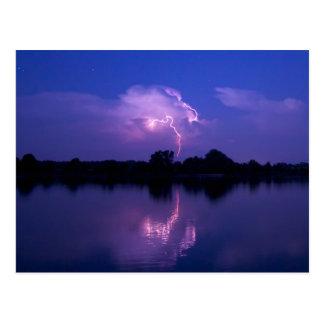 Bay Lightning Postcard