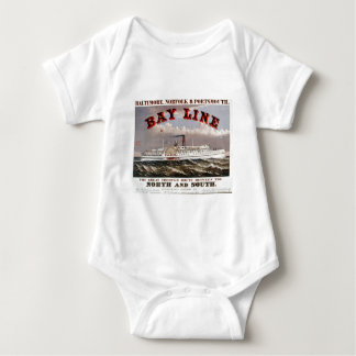 Bay Line - The Great Through Line Baby Bodysuit