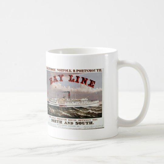 Bay Line - The Great Through Line Coffee Mug