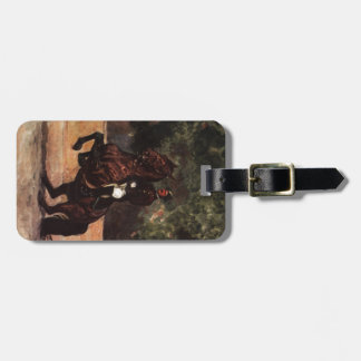 Bay Lipizzaner Levade Luggage Tags