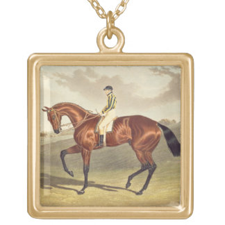Bay Middleton, winner of the Derby in 1836, after Gold Plated Necklace